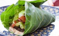 lettuce-wrap-on-plate
